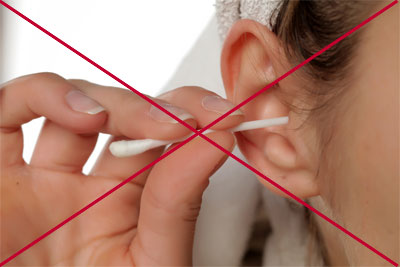 Avoid Cleaning Your Eyes with Q-tips or Cotton Swabs