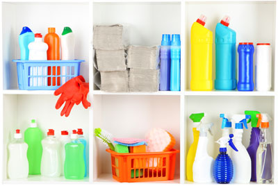 Household Cleaners Can Cause Indoor Allergies
