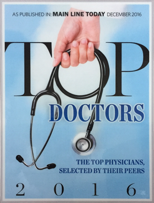 Main Line Today Top Doctor 2016 - Dr. Lana B. Patitucci