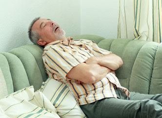 Older Man with Atrial Fibrillation (AFib) and Sleep Apnea