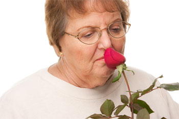Woman with Loss of Smell - Anosmia