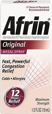 Overuse of Afrin Spray Can Cause More Swelling Of Nasal Tissues