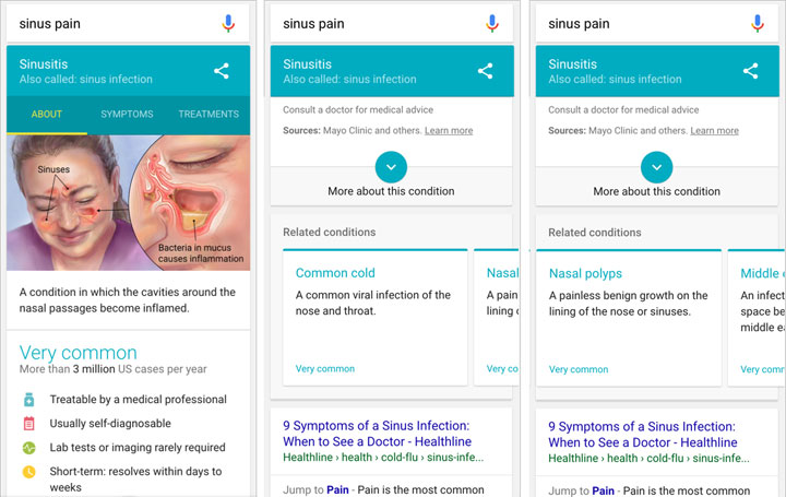 Searching for ENT Medical Symptoms on Google Made Easier