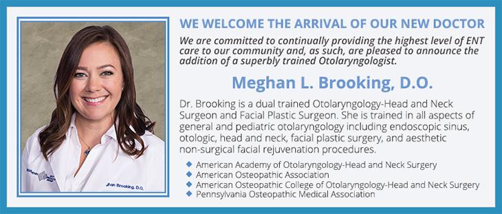 BergerHenry ENT Welcomes Dr. Meghan L Brooking
